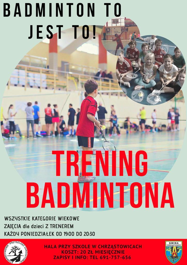 trening badmintona