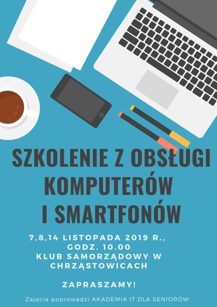 szkolenie z obsługi komputerów i smartfonów