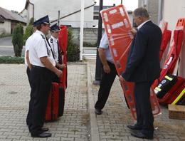 Galeria Przekazanie sprzętu strażackiego