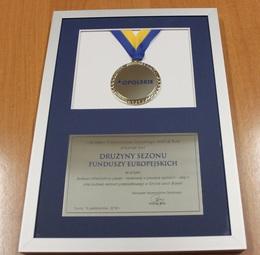 Galeria Wyróżnienie dla gminy Chrząstowice
