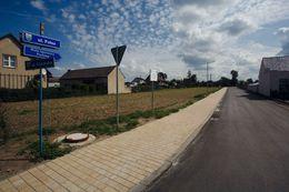 Zakończenie przebudowy ulicy Polnej w Chrząstowicach