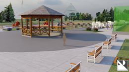 Galeria Plan zagospodarowania boiska w Dębskiej Kuźni